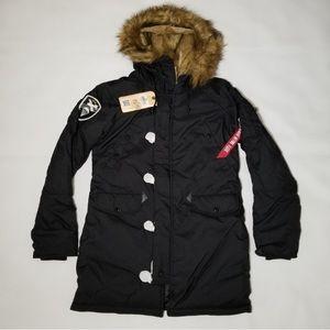 Alpha Industries women Altitude parka jacket black